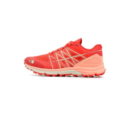 Chaussures Femme | The North Face ULTRA VERTICAL W CHAUSSURES DE RUNNING ROUGE