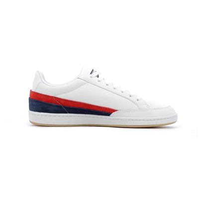 Le Coq Sportif COURTCLAY TRICOLORE BASKETS BASSES BLANC Chaussure France_v12618