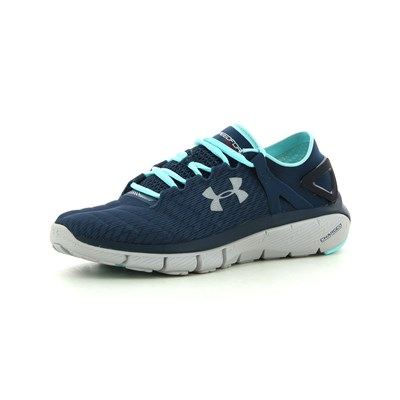 Under Armour WOMEN'S SPEEDFORM FORTIS NIGHT CHAUSSURES DE RUNNING BLEU MARINE