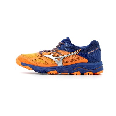 Mizuno WAVE MUJIN 5 CHAUSSURES DE RUNNING ORANGE Chaussure France_v13809