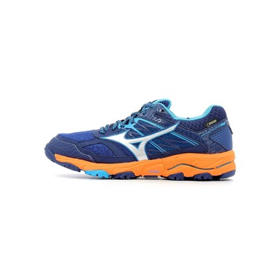 Mizuno WAVE MUJIN 5 GTX WOMEN CHAUSSURES DE RUNNING ORANGE Chaussure France_v13810