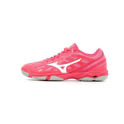 Mizuno WAVE HURRICANE 3 CHAUSSURES DE SPORT ROSE Chaussure France_v8970