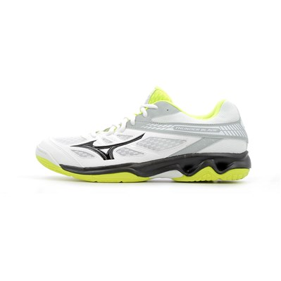Mizuno THUNDER BLADE CHAUSSURES DE SPORT BLANC Chaussure France_v7933