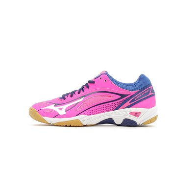Mizuno WAVE GHOST WOMEN CHAUSSURES DE SPORT ROSE Chaussure France_v8671