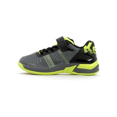 Kempa ATTACK CONTENDER CAUTION JUNIOR VELCRO CHAUSSURES DE SPORT NOIR