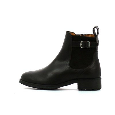 Aigle CHANTE CHELSEA BASKETS BASSES NOIR