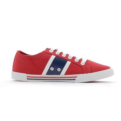 Helly Hansen BERGE VIKING LOW BASKETS BASSES ROUGE Chaussure France_v5921