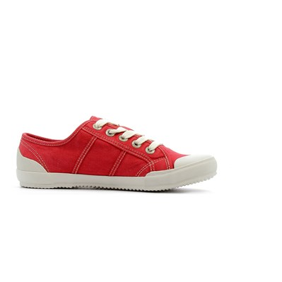 Chaussures Femme | Tbs OPIACE BASKETS BASSES ROUGE
