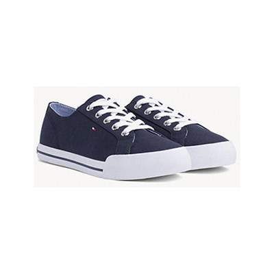 Tommy Hilfiger LOW SNEAKERS MARINEBLAU
