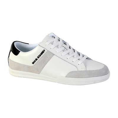 Versace NEW MARC DIS.1 BASKETS BASSES BLANC