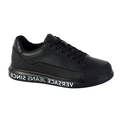Versace SINCE DIS.1 BASKETS BASSES NOIR Chaussure France_v14780