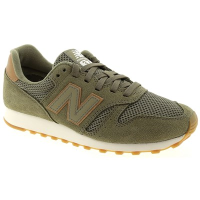 New Balance ML373 BASKETS BASSES KAKI Chaussure France_v12054