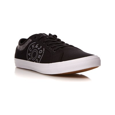 Chaussures Homme | Jack & Jones JFWROSS BASKETS BASSES ANTHRACITE