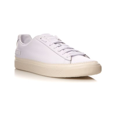 Puma BASKETS EN CUIR BLANC Chaussure France_v6685