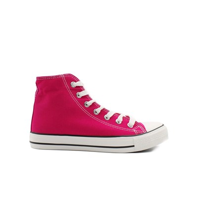 Chaussures Femme | Kebello BASKETS MONTANTES ROSE