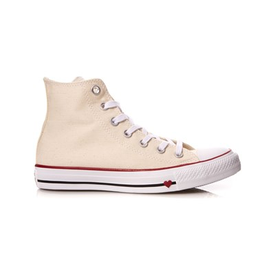 Qualità Superiore Converse CHUCK TAYLOR ALL STAR LOVE SNEAKERS ALTE NATURALE