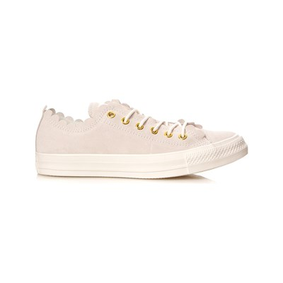 Chaussures Femme | Converse CHUCK TAYLOR FRILLY THRILLS BASKETS BASSES ROSE