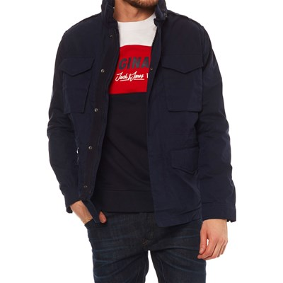 Jack & Jones JPRTACTICAL GIACCA BLU MARINE