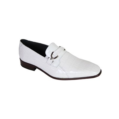 Pierre Cardin MOCASSINS BLANC Chaussure France_v16364