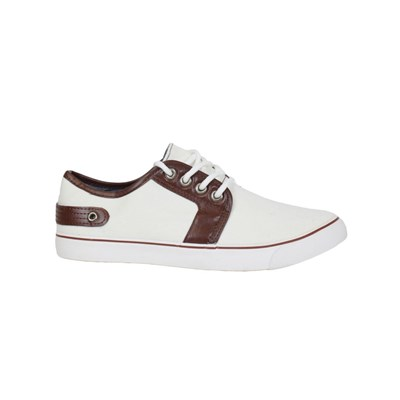 Chaussures Homme | Kebello BASKETS BASSES BLANC