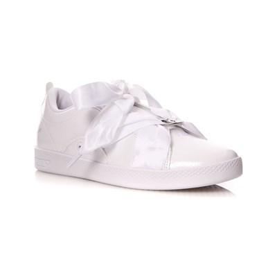 Synthétique Puma Baskets Smash Blanc 3006930 Basses xx80vf7