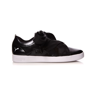 Basses Synthétique Noir Puma Smash 3006931 Baskets qnYOfOE