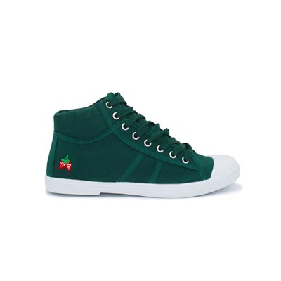 Chaussures Femme | Kebello BASKETS MONTANTES VERT