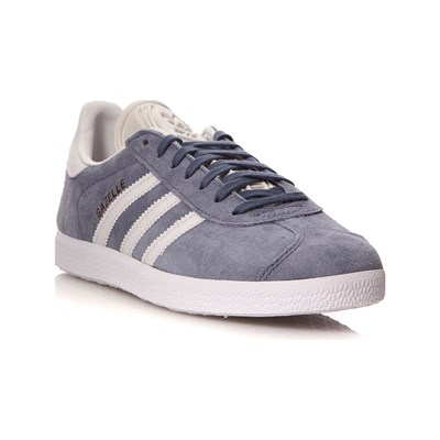 adidas Originals GAZELLE BASKETS EN CUIR GRIS CHINE Chaussure France_v6038