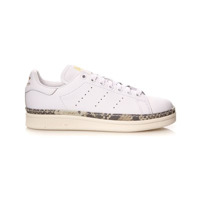 adidas Originals STAN SMITH NEW BOLD BASKETS EN CUIR BLANC Chaussure France_v10460