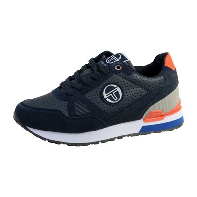 Chaussures Homme | Sergio Tacchini WIDER LTX BASKETS BASSES BLEU MARINE