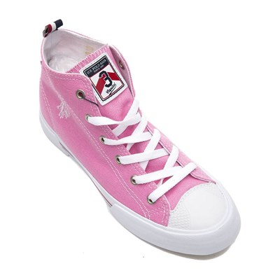 US Polo ASSN GYNNA BASKETS MONTANTES ROSE Chaussure France_v7384
