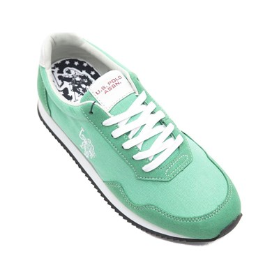 US Polo ASSN NOBIL BASKETS BASSES VERT Chaussure France_v9516