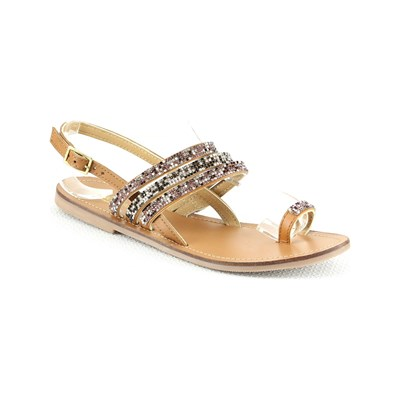 Manoukian NU-PIEDS CAMEL Chaussure France_v2660