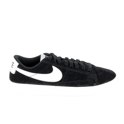 Nike BLAZER LOW BASKETS BASSES NOIR Chaussure France_v10319