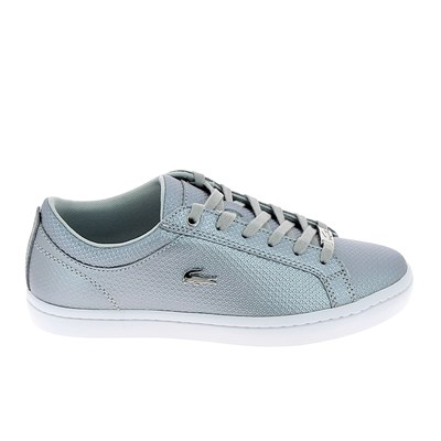 Lacoste STRAIGHTSET 318 BASKETS BASSES ARGENT