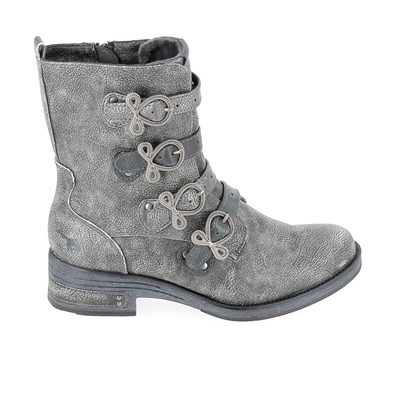 Chaussures Femme | Mustang BOTTINES ARGENT