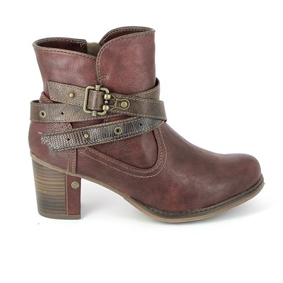 Mustang BOTTINES ROUGE Chaussure France_v9917