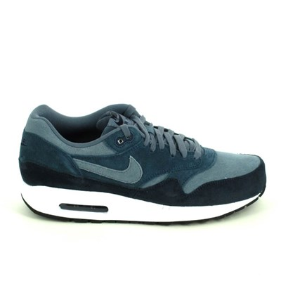 Nike AIR MAX 1 BASKETS BASSES BLEU MARINE