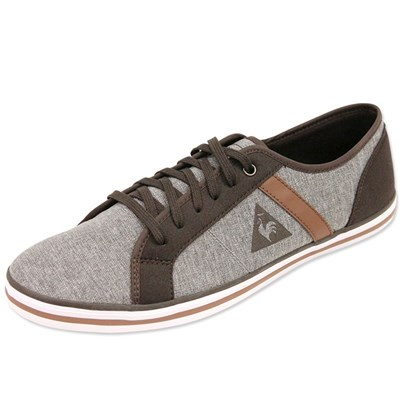 Le Coq Sportif PORTILLON GRM TENNIS GRIS Chaussure France_v1557