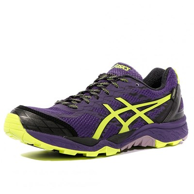 Asics GEL FUJITRABUCO 5 G-TX CHAUSSURES TRAIL VIOLET Chaussure France_v13851