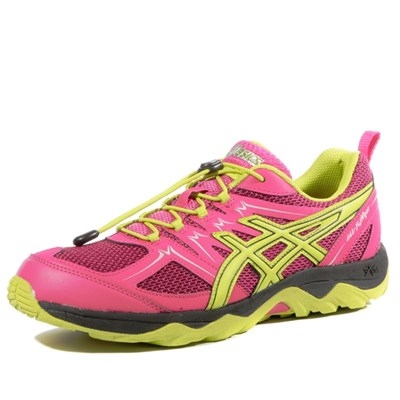 Asics FUJI VIPER TRAIL CHAUSSURES RUNNING ROSE Chaussure France_v7182
