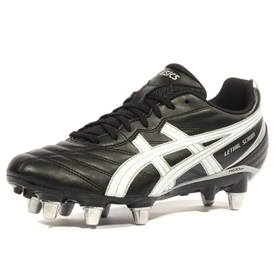 Asics LETHAL SCRUM CHAUSSURES RUGBY NOIR Chaussure France_v5831