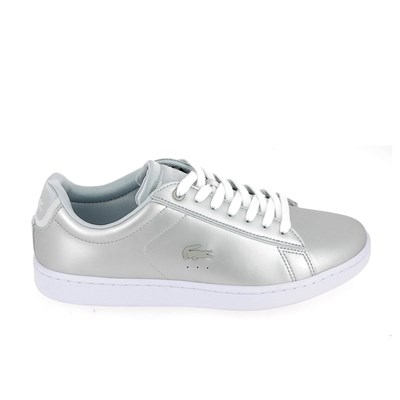 Lacoste CARNABY EVO 118 BASKETS BASSES GRIS Chaussure France_v11255