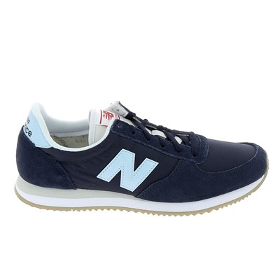 New Balance WL220 BASKETS BASSES BLEU MARINE Chaussure France_v8621