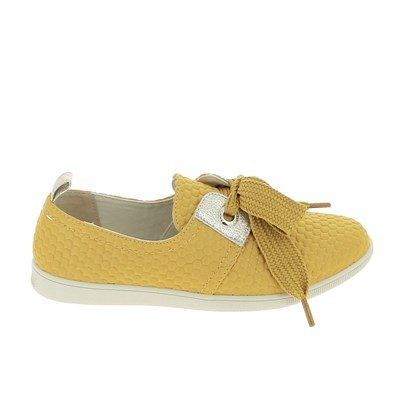 ARMISTICE BASKETS BASSES JAUNE Chaussure France_v5657