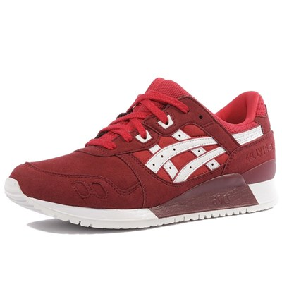 Asics GEL LYTE III CHAUSSURES ROUGE Chaussure France_v12785