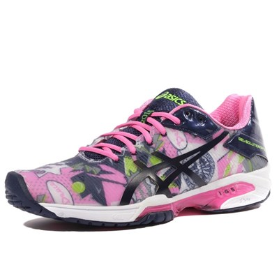 Asics GEL SOLUTION SPEED 3 CHAUSSURES TENNIS ROSE Chaussure France_v8327