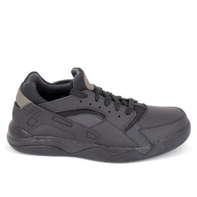 Chaussures Homme | Nike FLIGHT HUARACHE LOW BASKETS BASSES NOIR