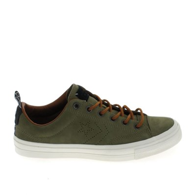 Chaussures Homme | Converse STAR PLAYER SUEDE BASKETS BASSES VERT