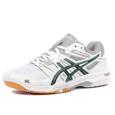 Asics GEL ROCKET 7 CHAUSSURES TENNIS BLANC Chaussure France_v5608